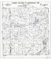 Goshen and Wapsinonoc Townships - Part, Muscatine County 1943